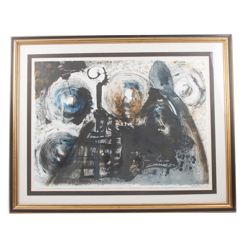 Lithograph originally created by Dali, arranged for publication by Peter Moore
