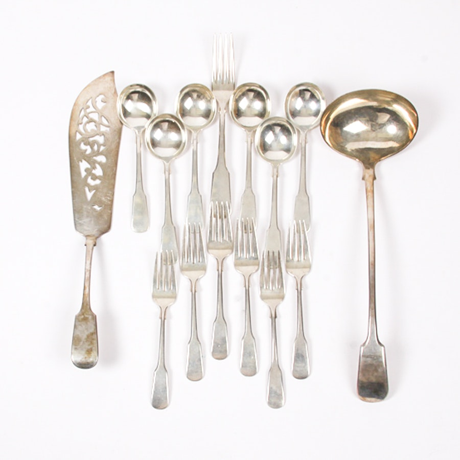 "Assortment of International Silver Co. Sterling Flatware in the ""1810"" Pattern"