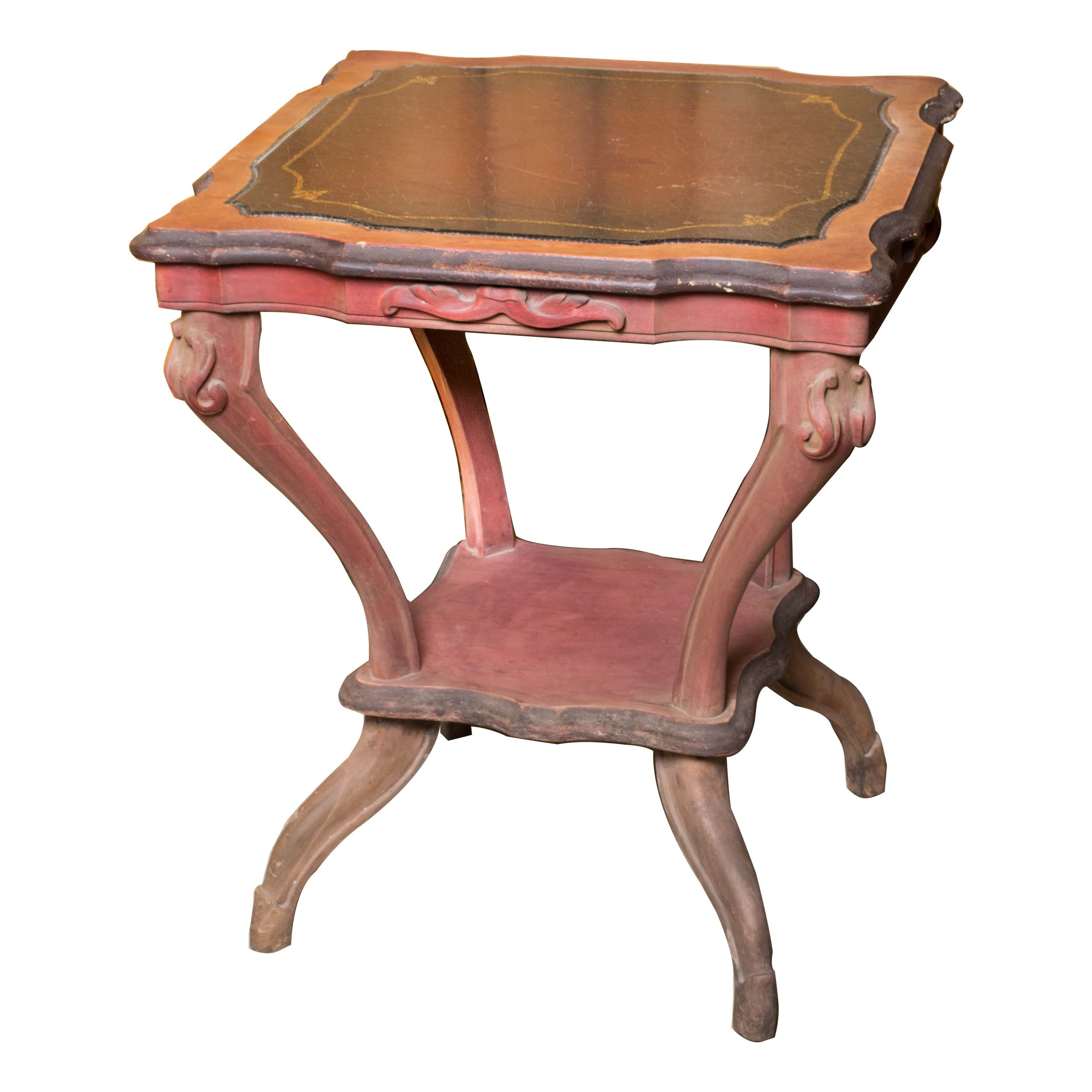 Antique Victorian Style Side Table