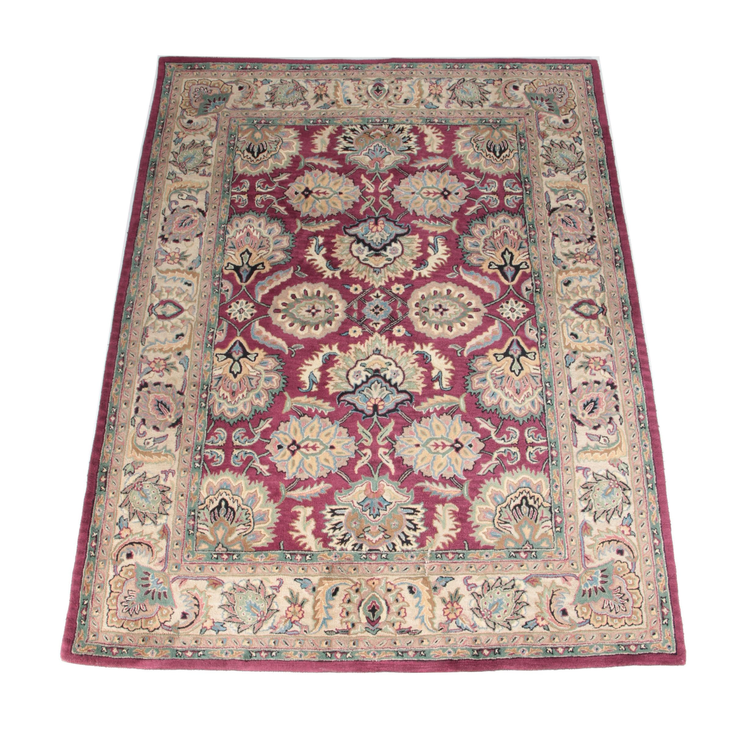 """Tufted Indian """"Paradise Collection"""" Area Rug"""