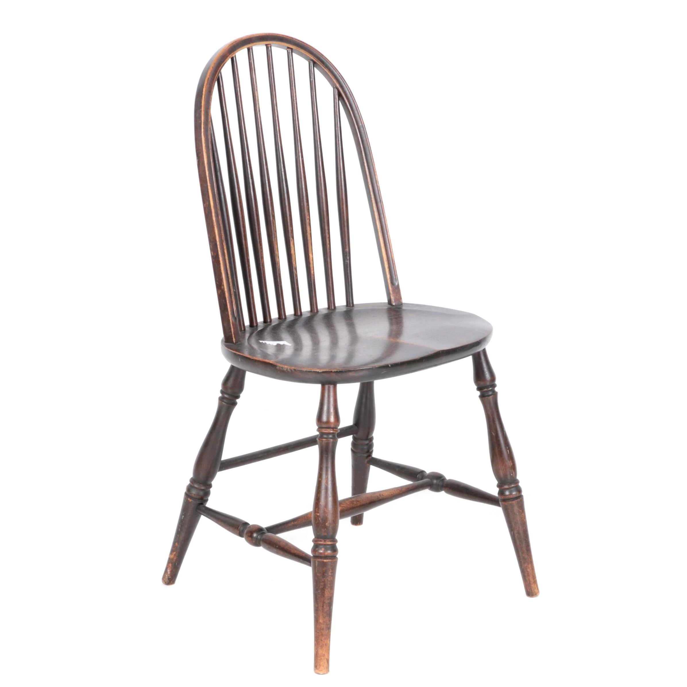 Vintage Windsor Style Side Chair