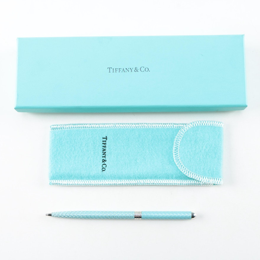 Tiffany & Co. Sterling Accent Ballpoint Pen