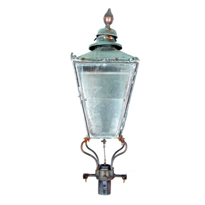 Vintage outdoor lighting used exterior lighting fixtures ebth english antique gas street lamp workwithnaturefo
