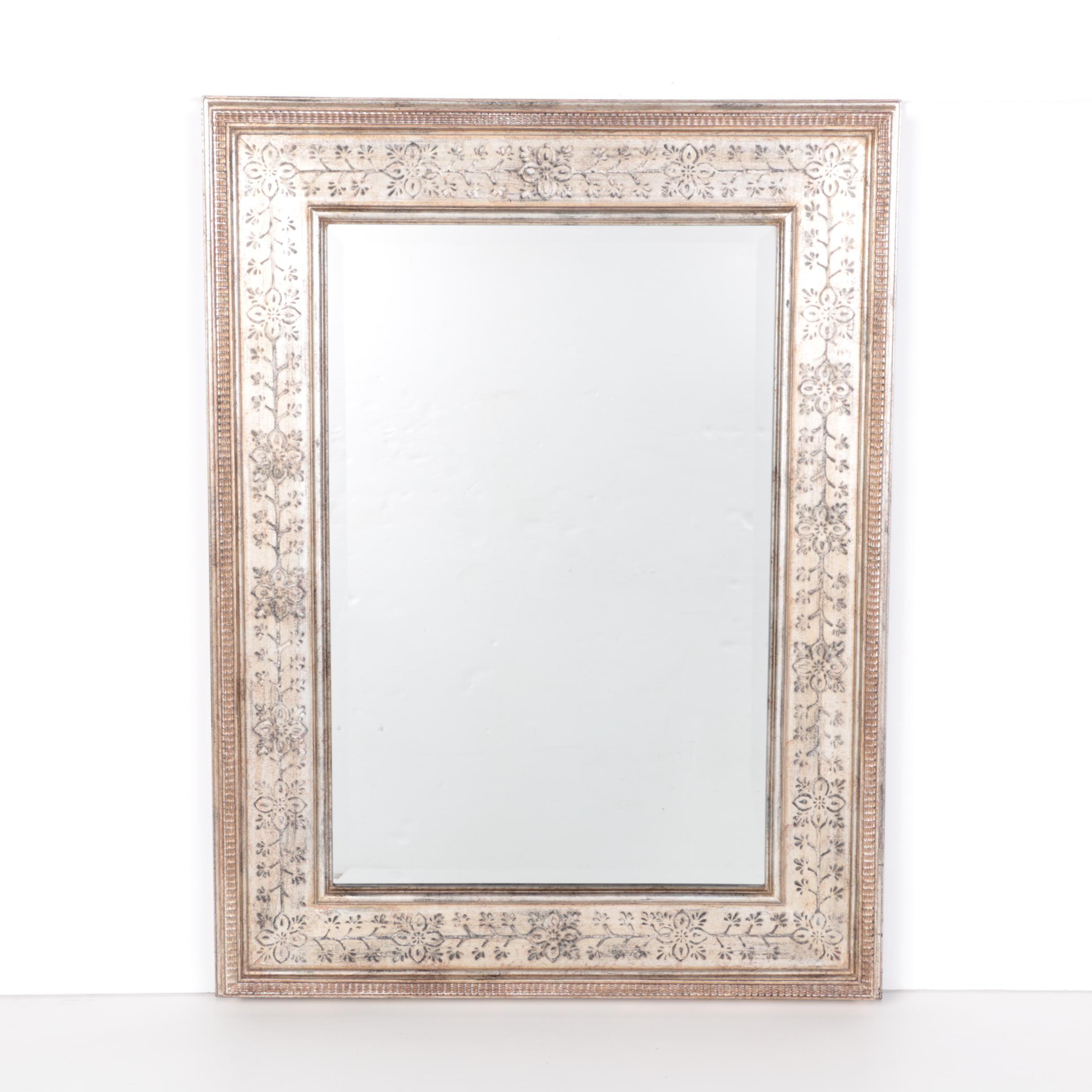 Champagne Wood-Framed Wall Mirror by Aberdeen Design