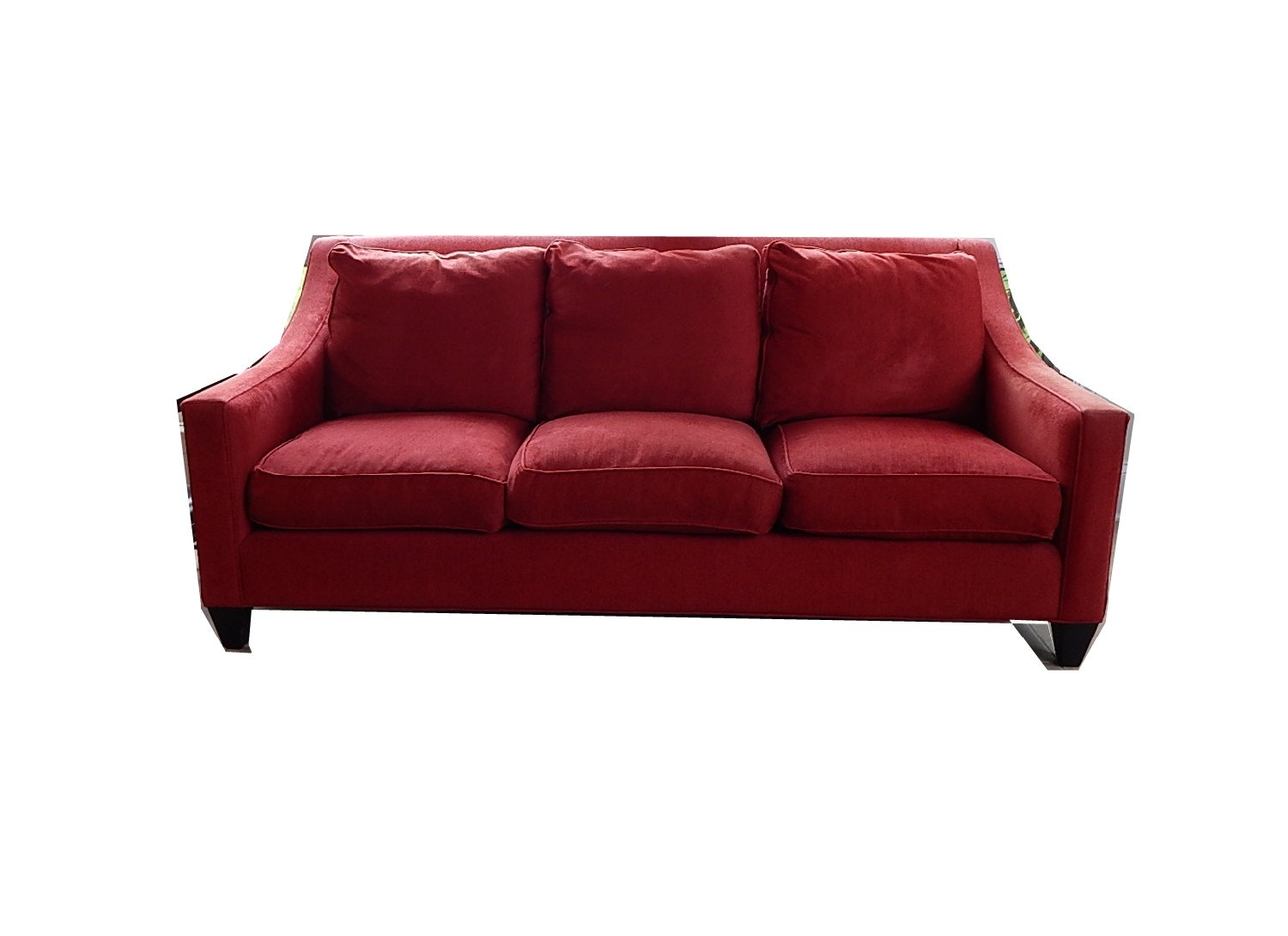 Contemporary Red Sofa by McCreary Modern