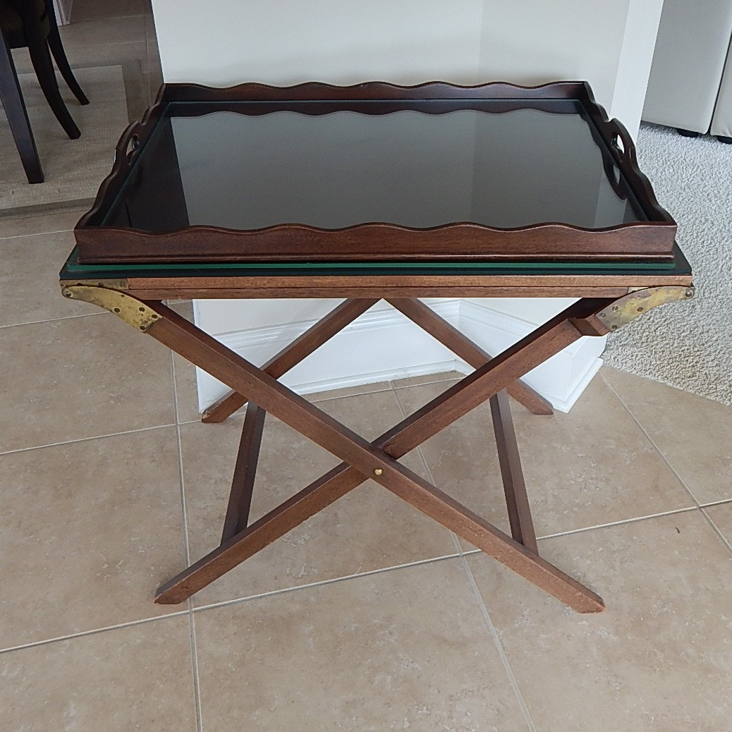 Baker Furniture Expandable Butler Table