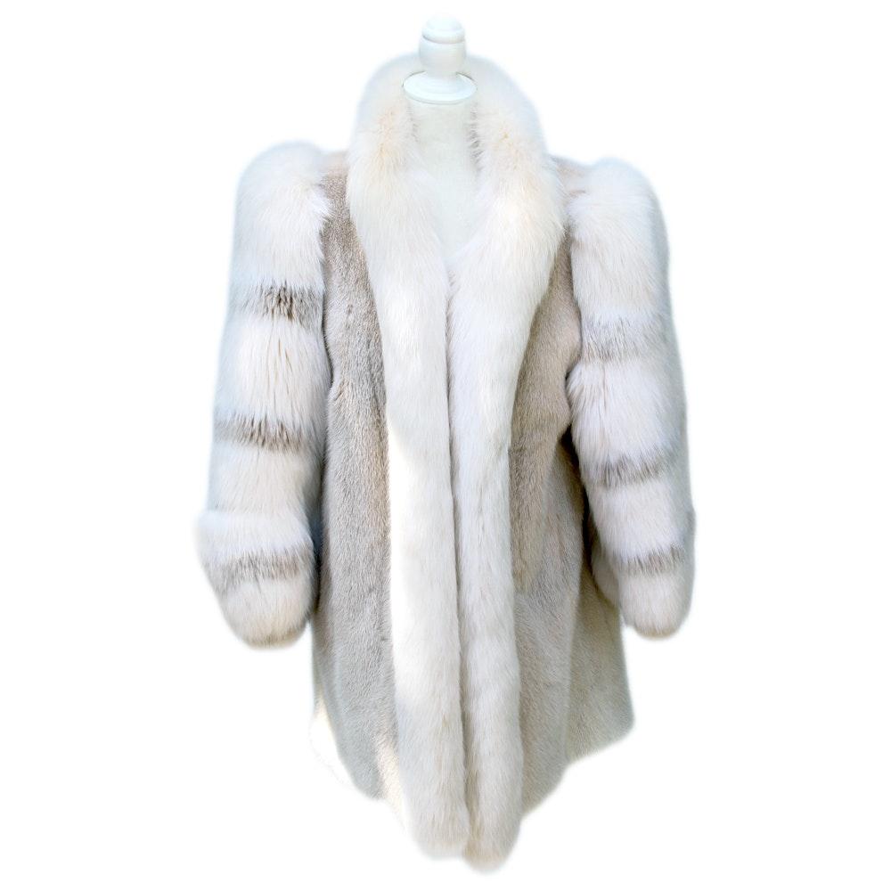Affinity Aspen Vail Arctic Fox Fur Coat