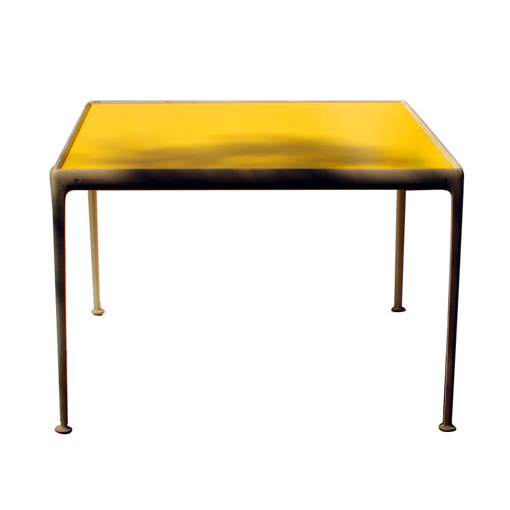 Mid Century Modern Knoll Furniture Table by Richard Schultz