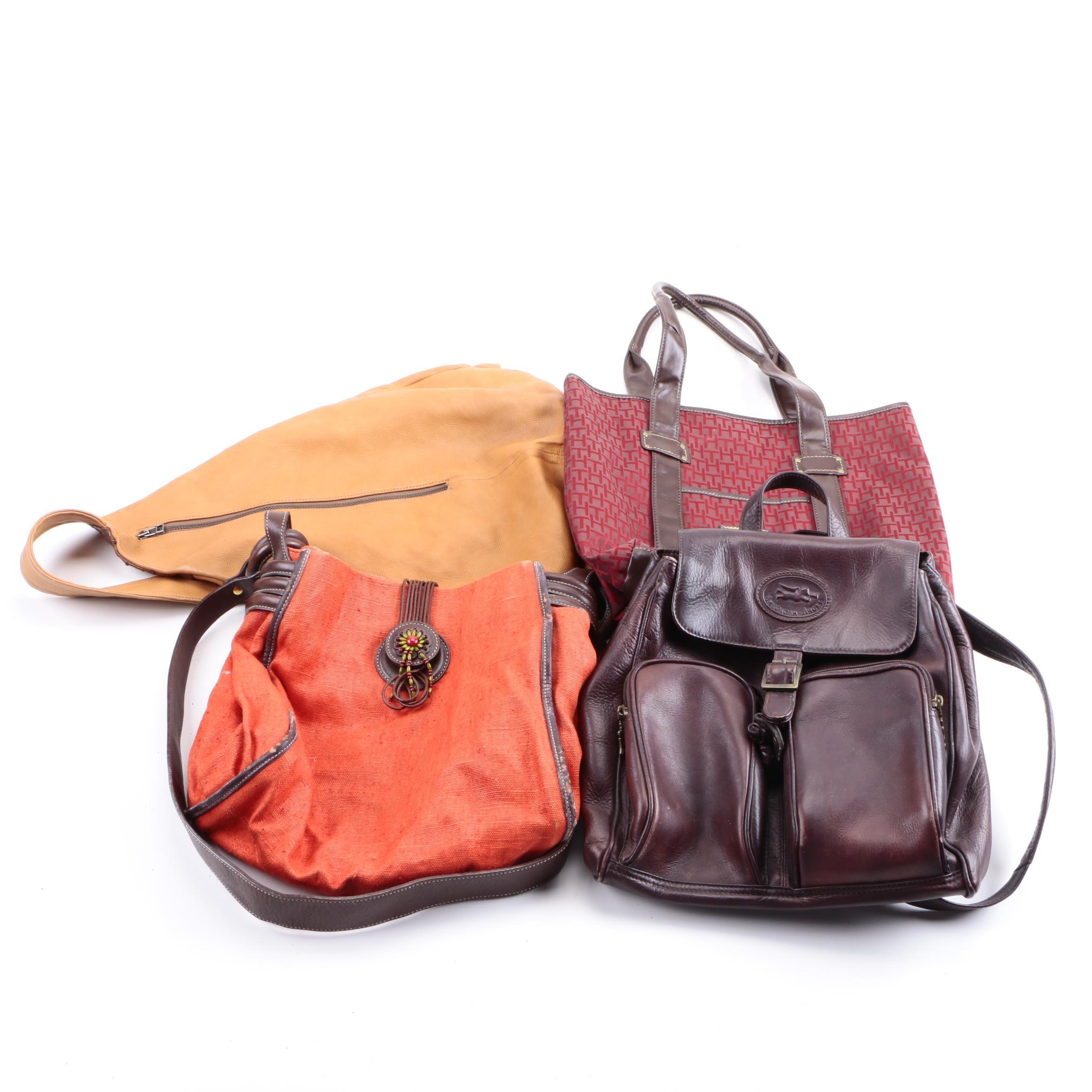 Handbags Including Tommy Hilfiger