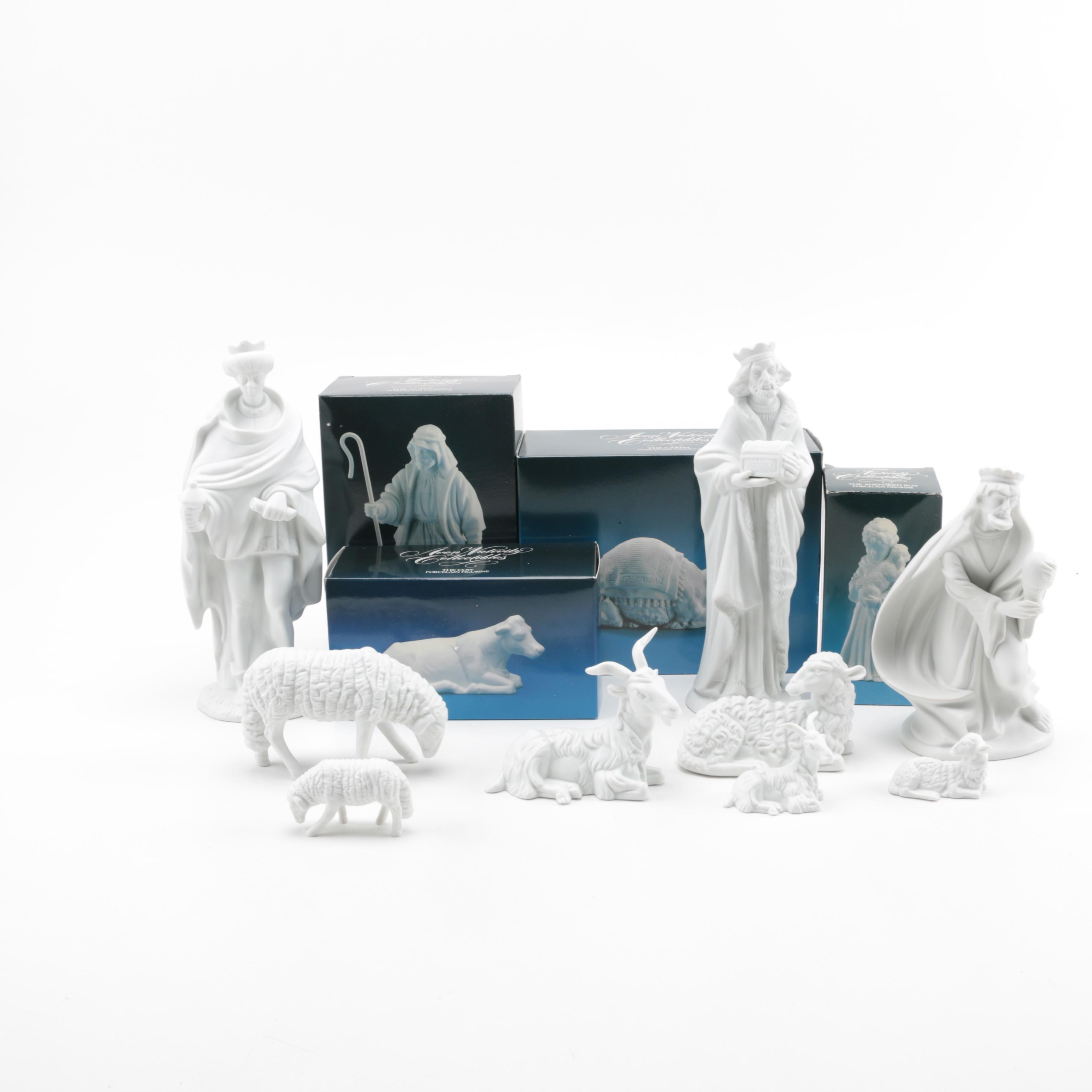 Assorted Avon Nativity Figurines