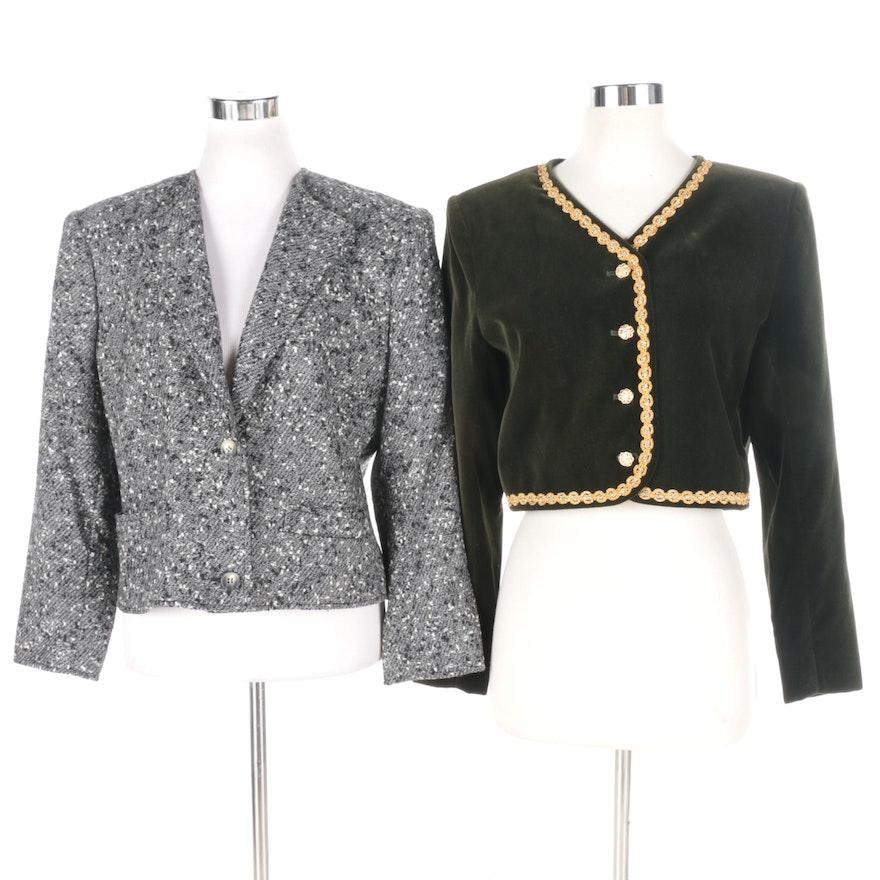 8352b575f66 Women's G. Gucci and Yves Saint Laurent Encore Jackets : EBTH