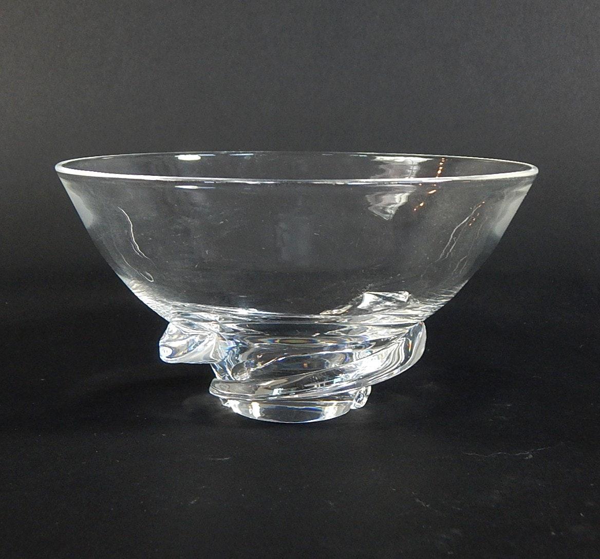 "Steuben Crystal  ""Spiral"" Bowl"