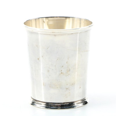 M. Fred Hirsch Co. Sterling Silver Mint Julep Cup
