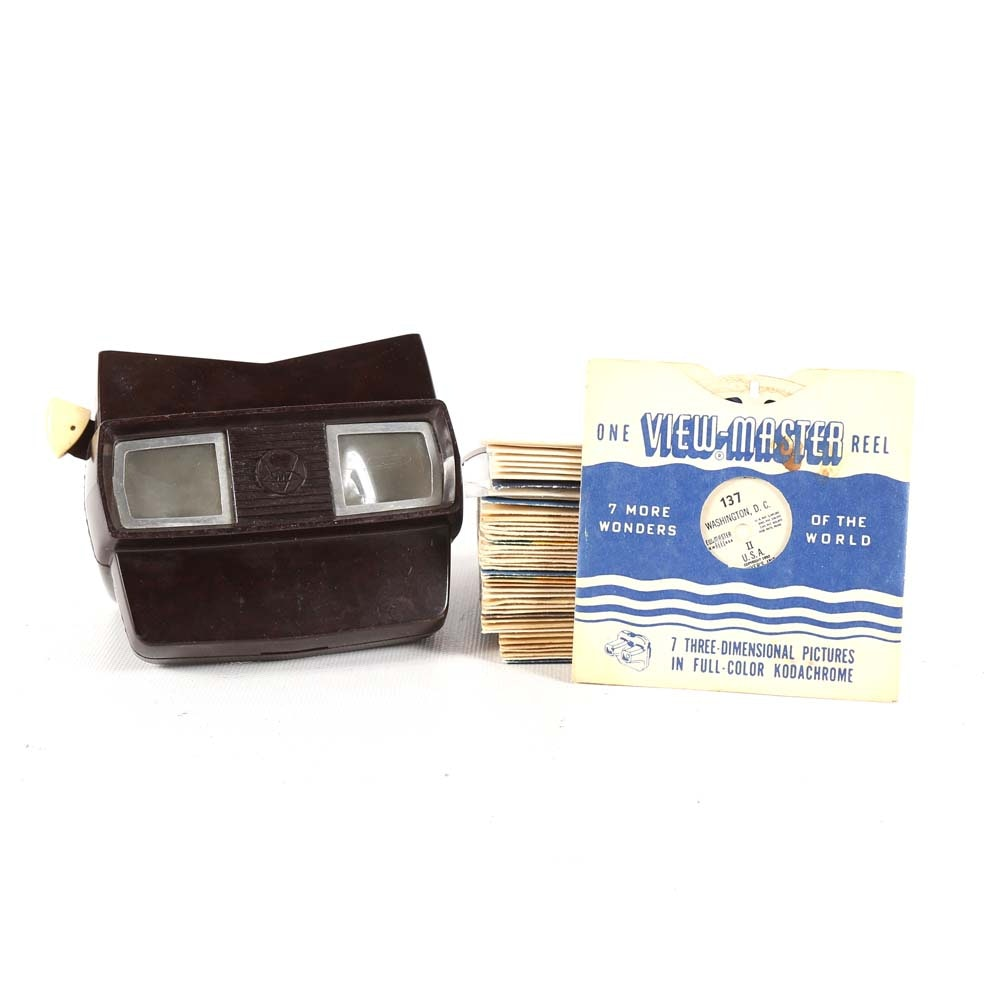 Vintage View-Master and Reels