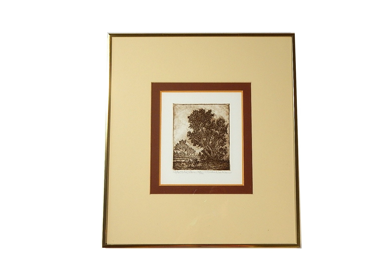 """Michael Kohler Limited Edition Etching """"After the Storm"""""""