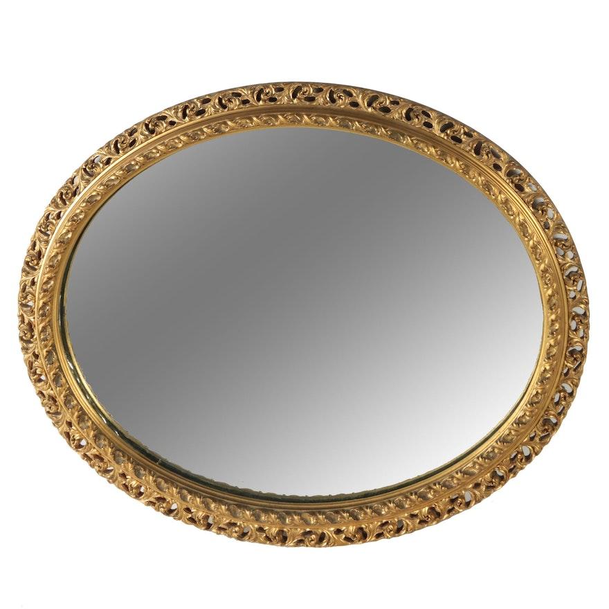 Oval Mirror in Filigree Frame : EBTH