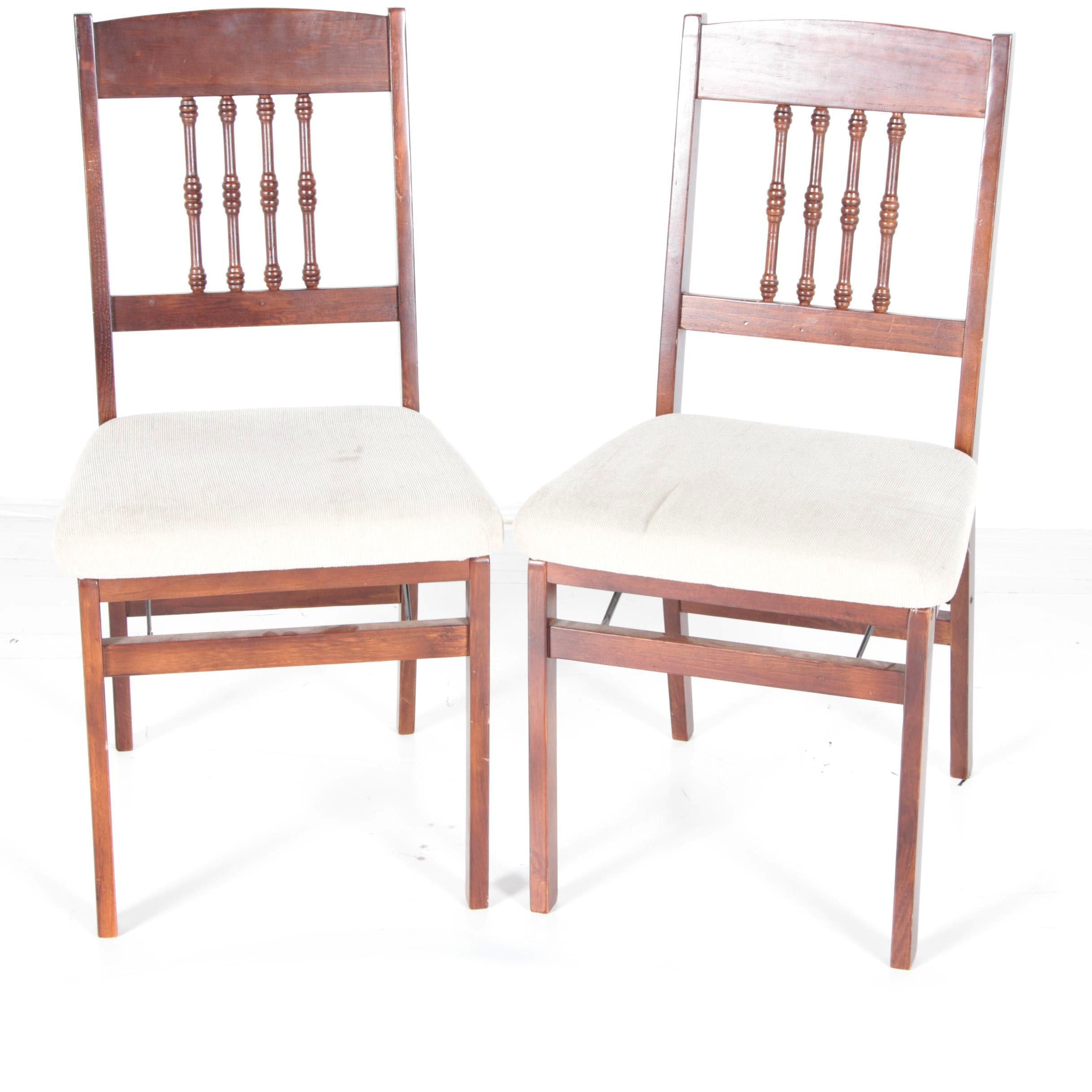 Wooden Frame Folding Chairs