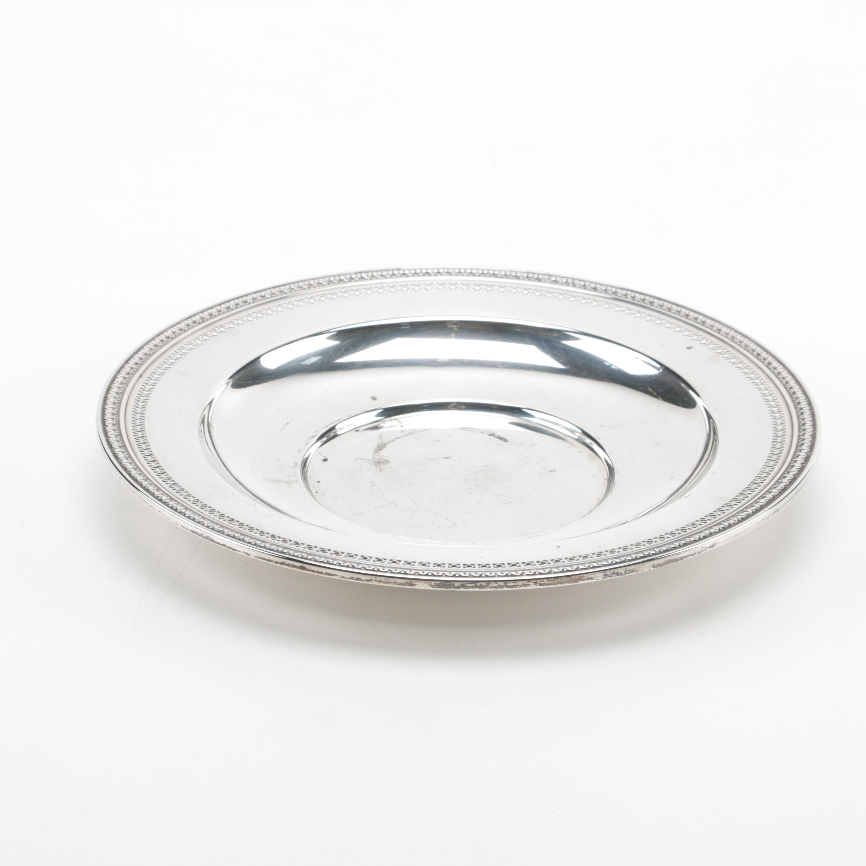 International Silver Co. Sterling Silver Dish