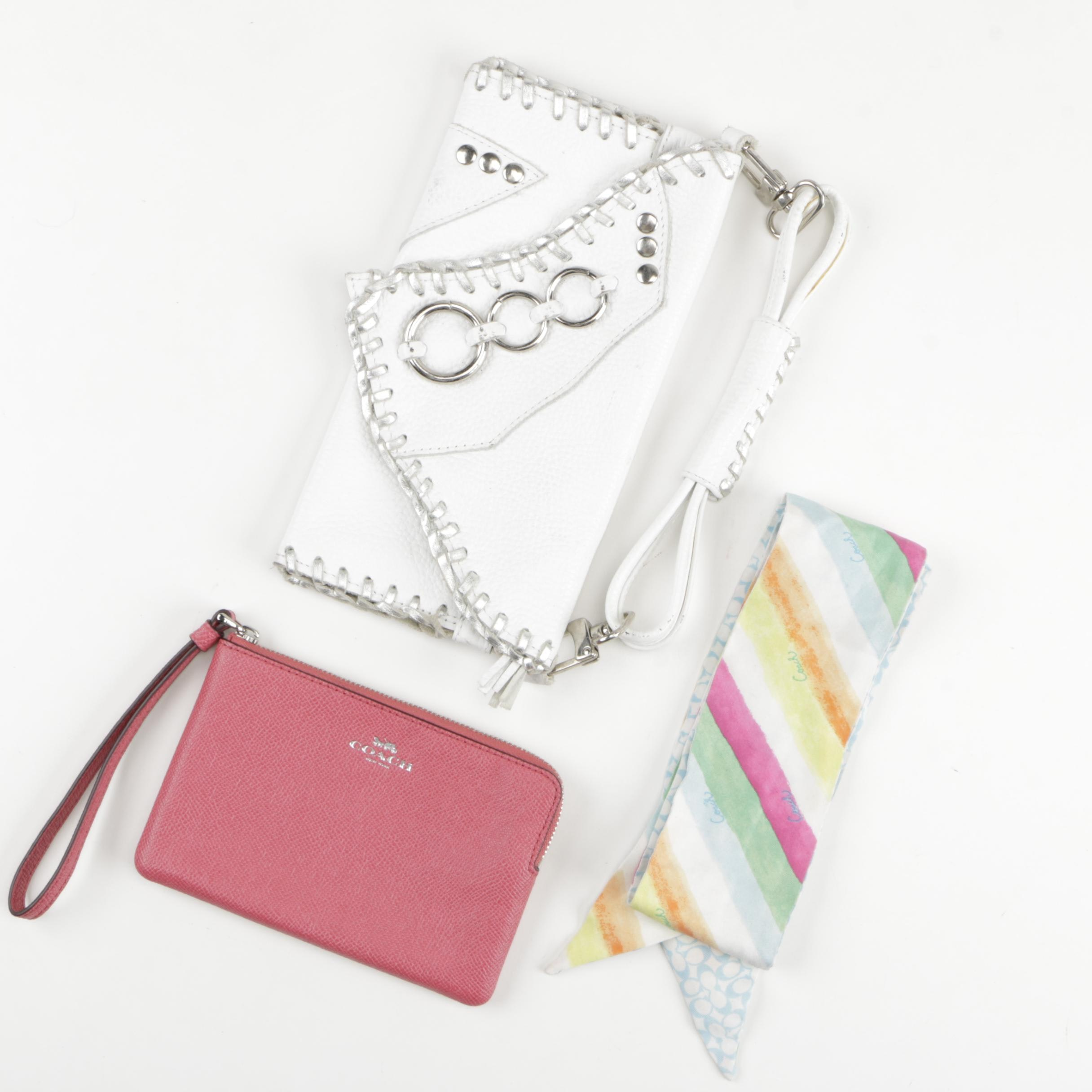 Wristlets and a Scarf Including Coach