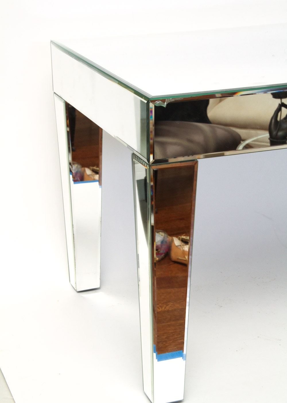 Z Gallerie Mirrored Coffee Table | EBTH