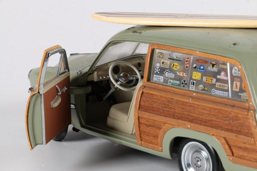 Motor City Classics 1949 Ford Woody Wagon Die Cast Car Ebth