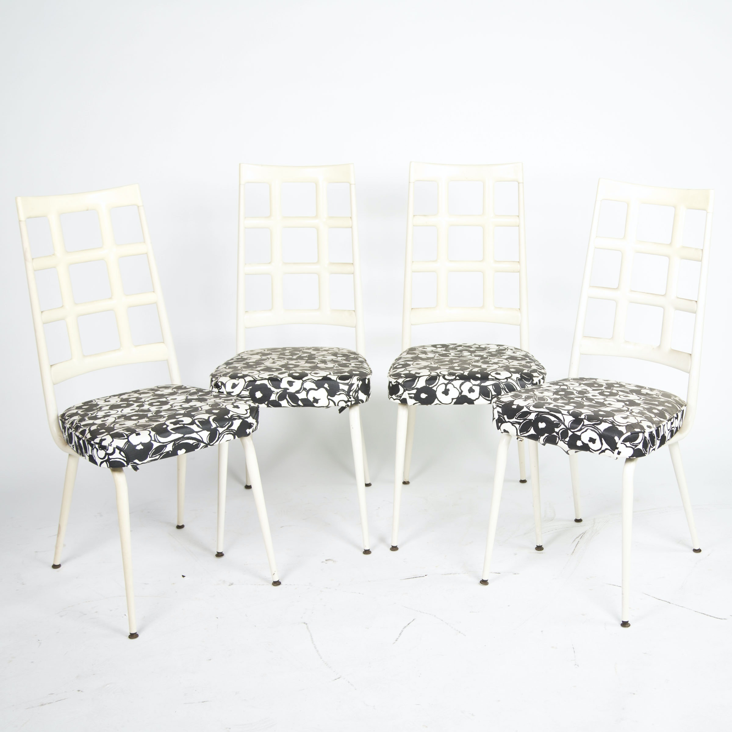 Vintage Mid-Century Dining Chairs by Chromcraft