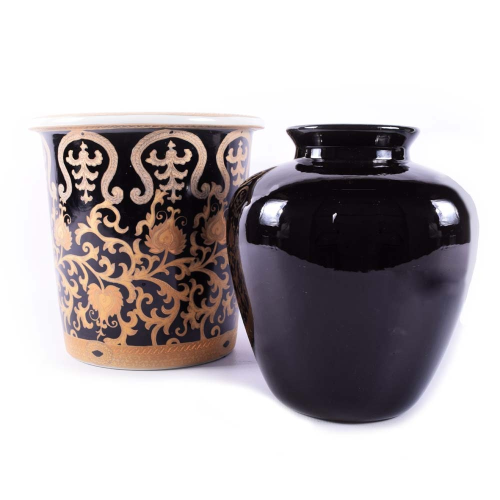 Glazed Ceramic Vessels