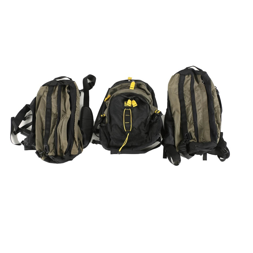 82ccedd1a0 A Selection of Three Backpacks Including The North Face : EBTH