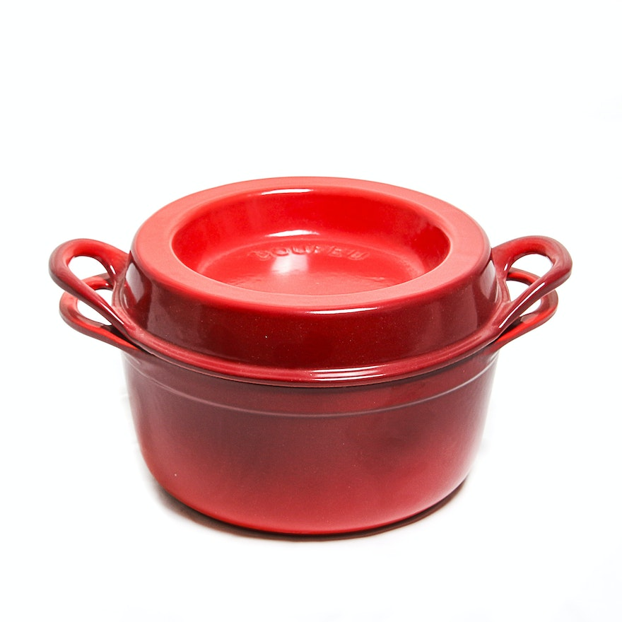 Le Creuset Doufeu Pot and Lid : EBTH