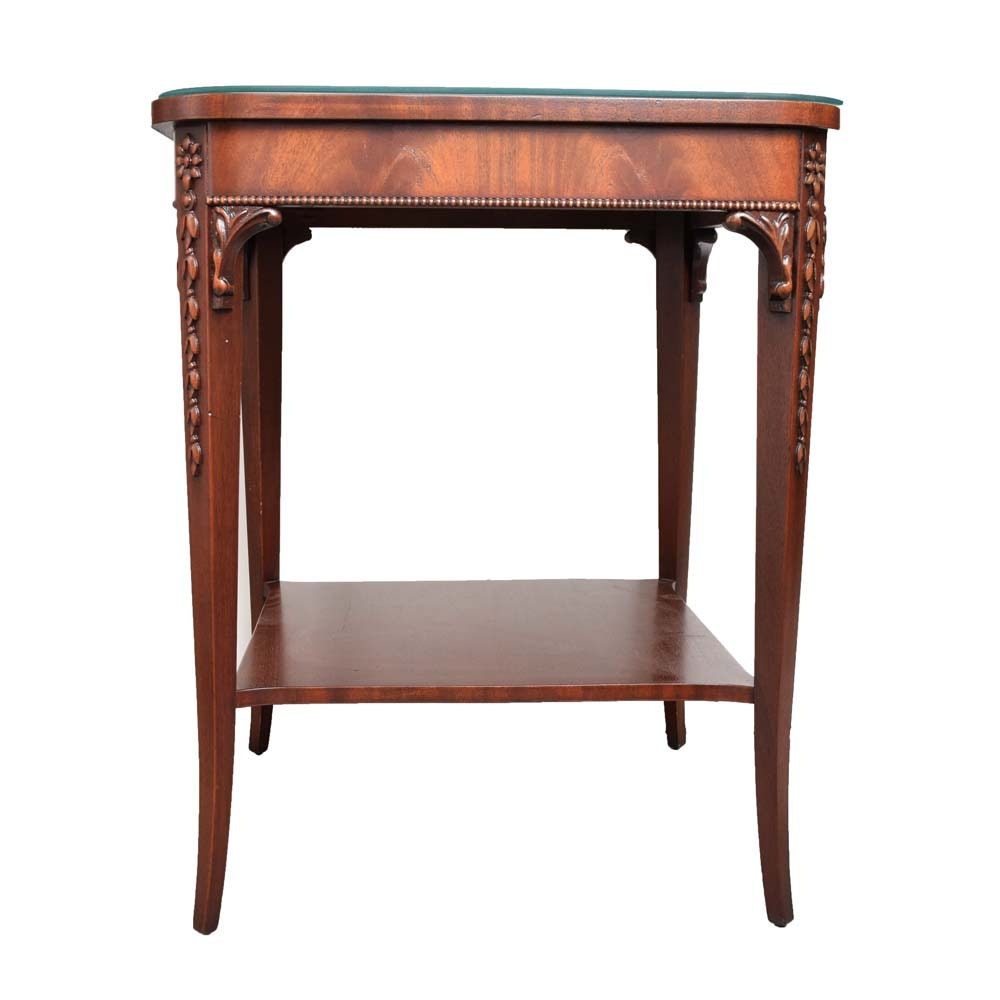 Vintage Mahogany Side Table by Imperial Furniture