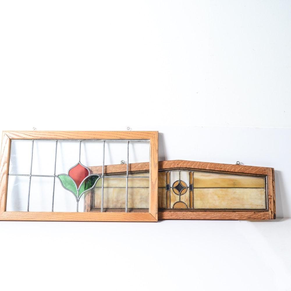 Slag Glass Panels