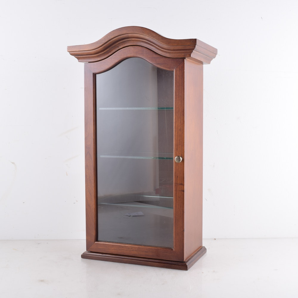 Wall-Mount Display Cabinet