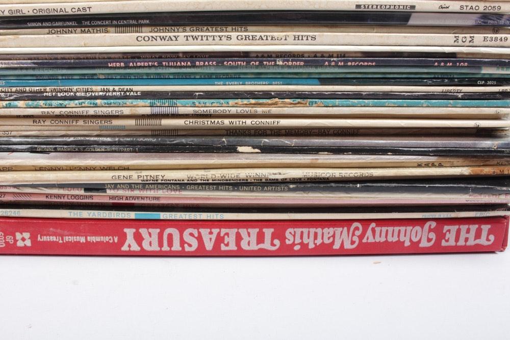 Yardbirds, Kinks, 100 Other Vintage LPs : EBTH