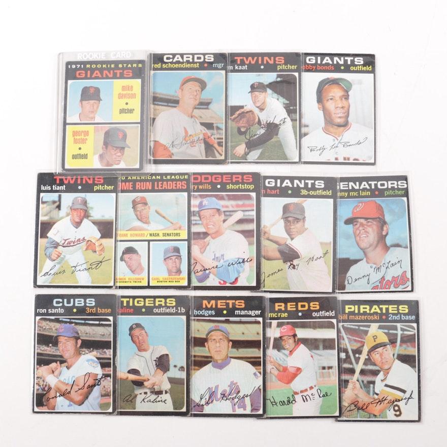1970s Topps Baseball Cards