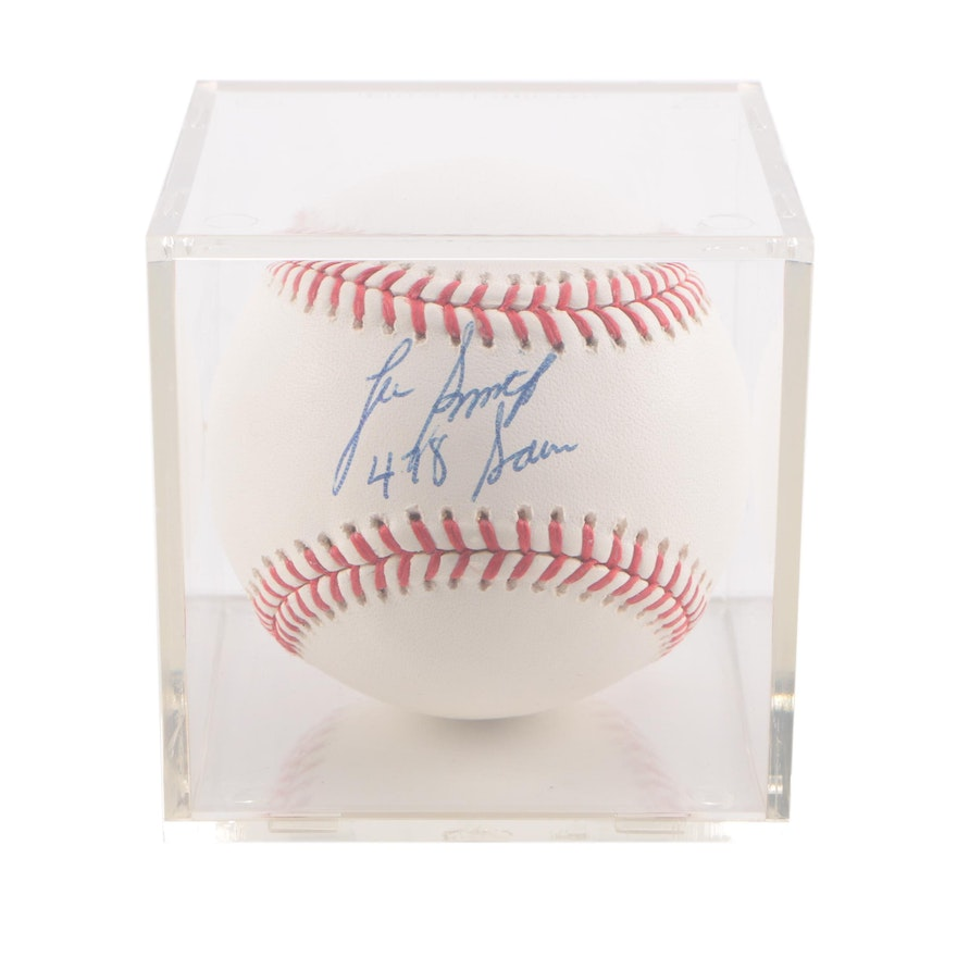 Lee Smith SIgned Baseball   EBTH 2ec661093