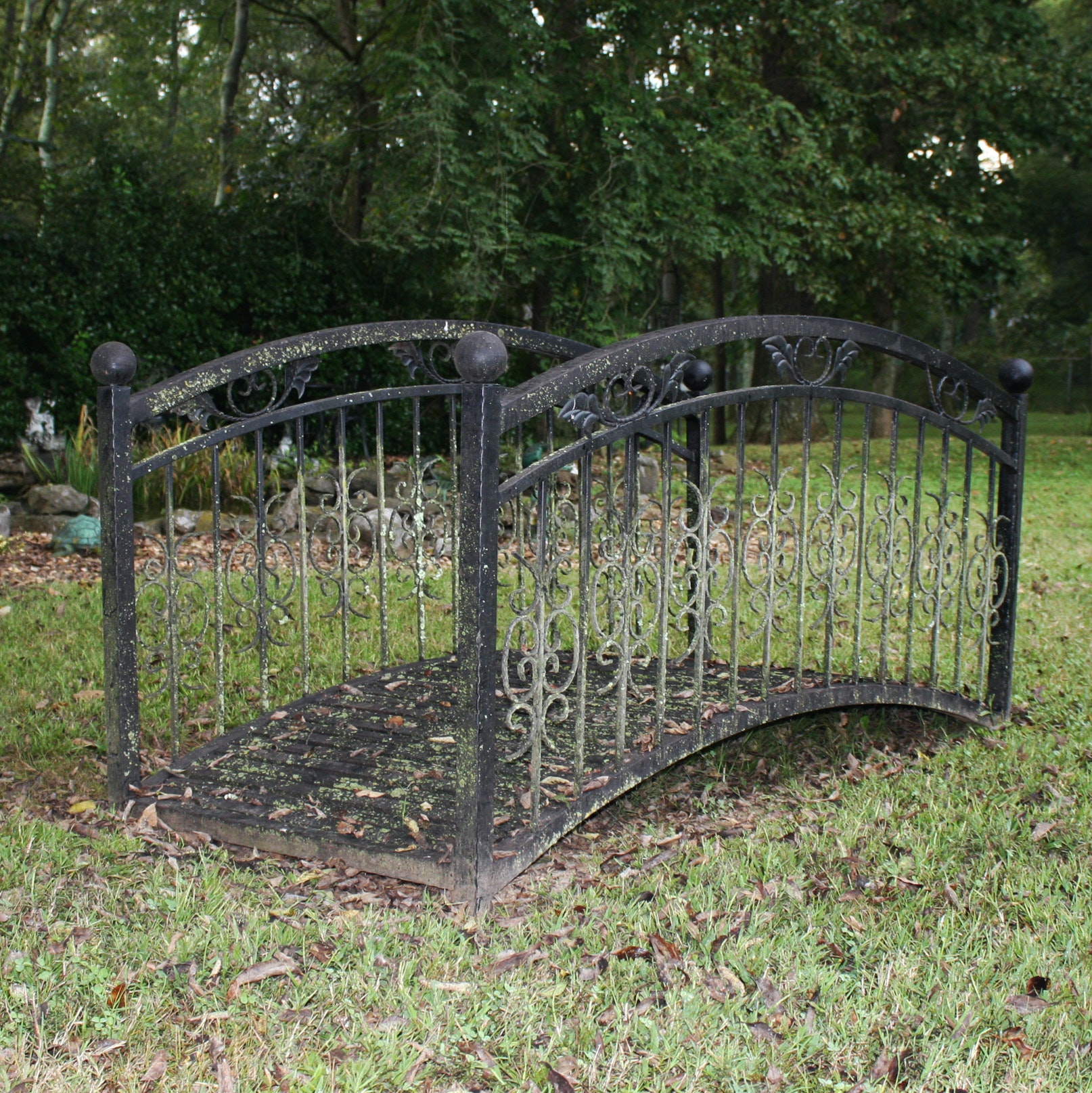 Decorative Metal Garden Bridge ...