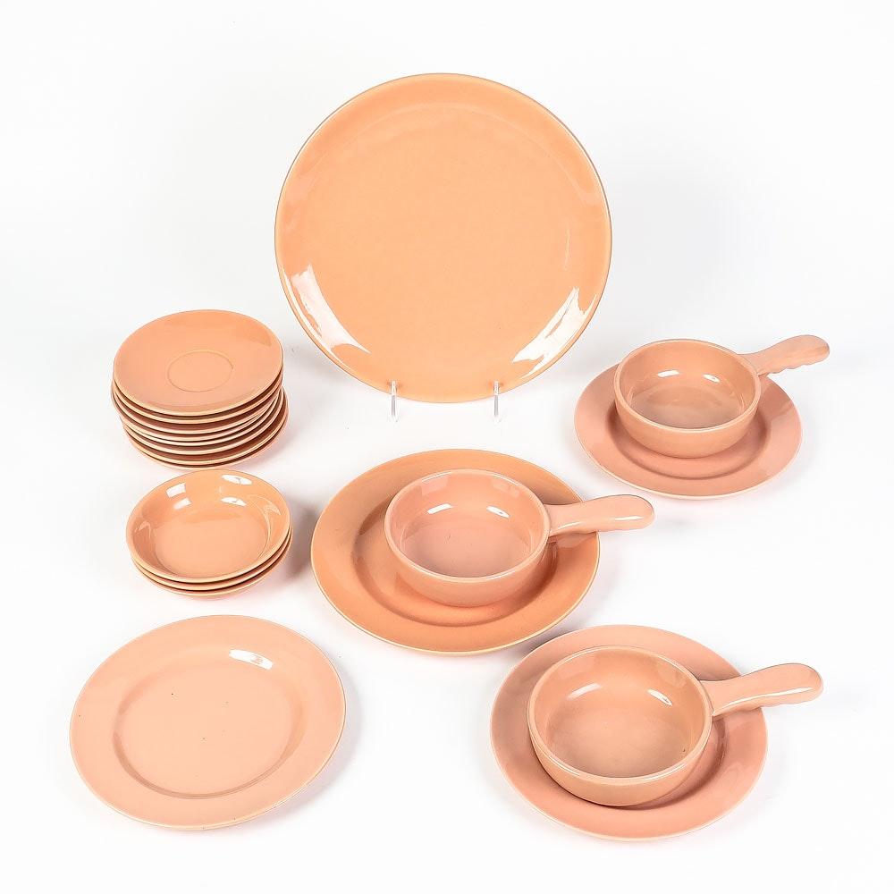 Vintage Gladding McBean California Pottery Coral El Patio Tableware Set ...  sc 1 st  EBTH.com & Vintage Gladding McBean California Pottery Coral El Patio Tableware ...