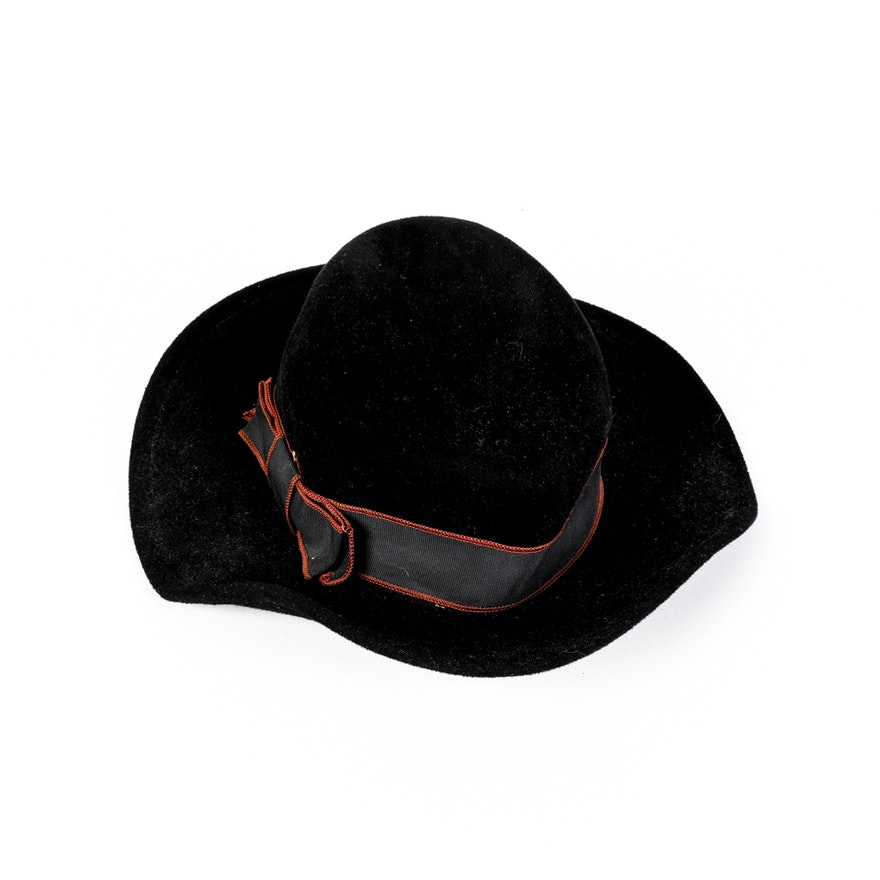 Women s Vintage Betmar Hat with Grosgrain Ribbon   EBTH e8b431f9703