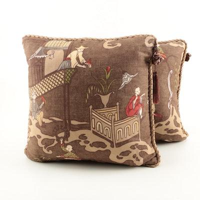 Asian Inspired Throw Pillows