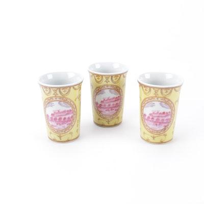 Three Ceramic Cups