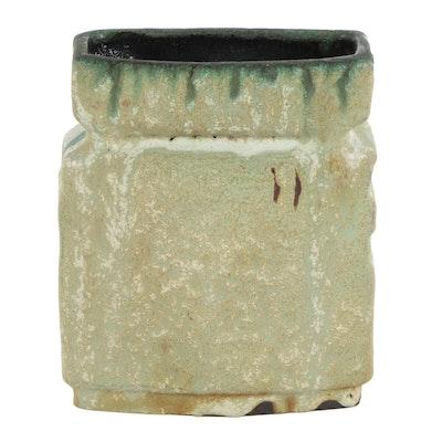 Helmut Schäffenacker Rectangular Ceramic Vase
