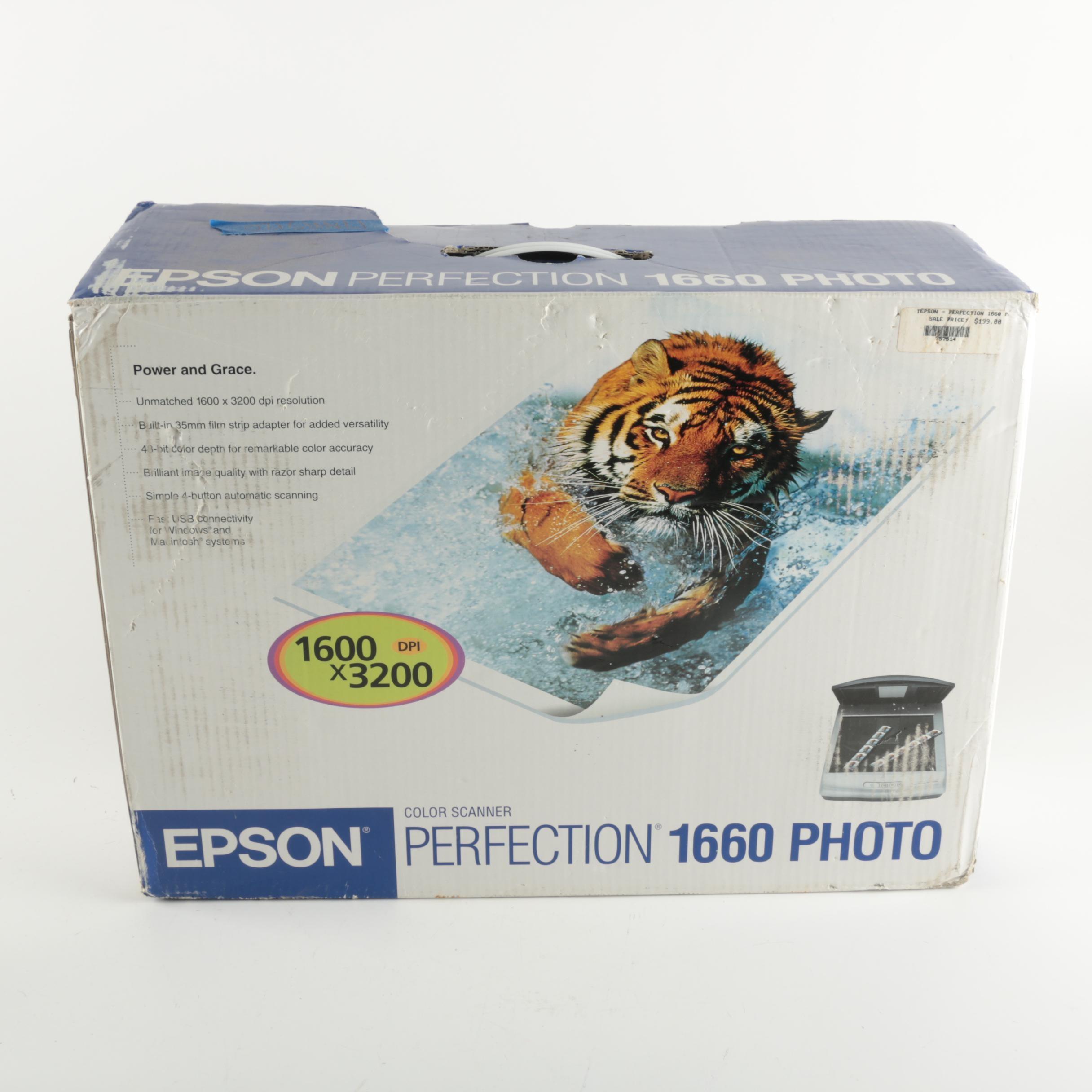 Epson Perfection Photo Scanner
