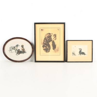 Prints of Dogs