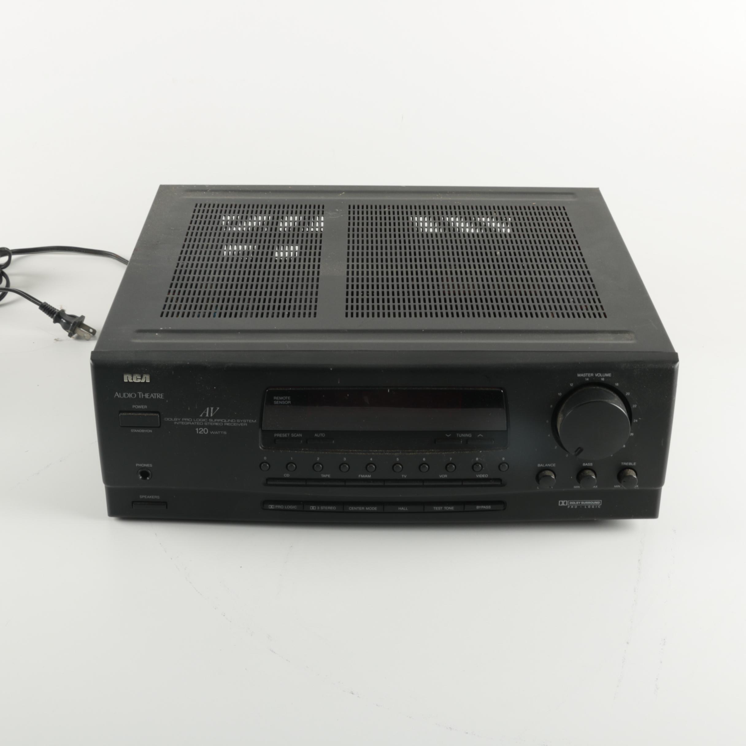 RCA Audio Theater Receiver