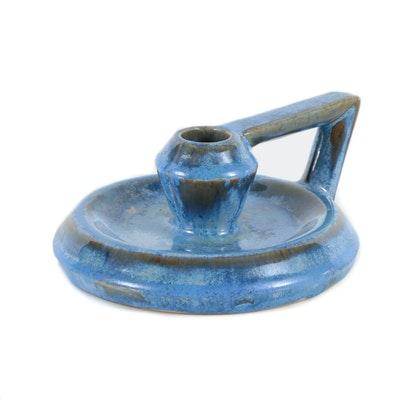 Fulper Ceramic Candlestick Holder