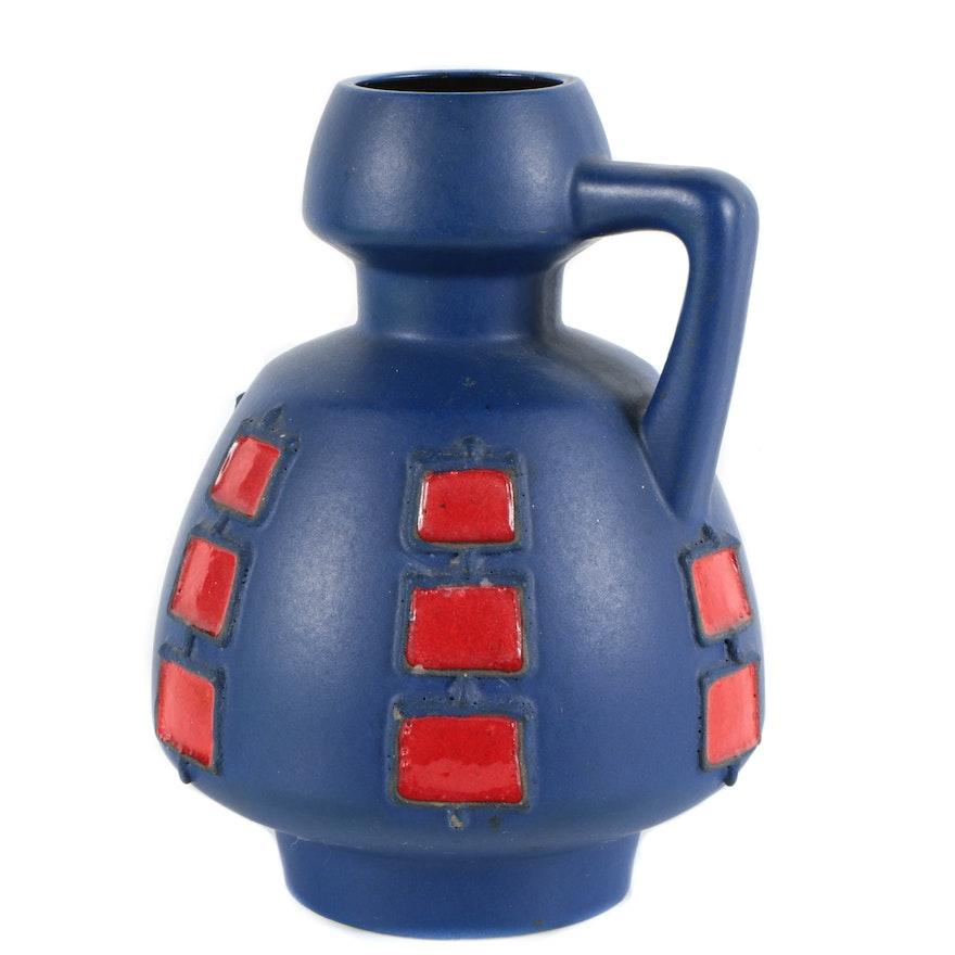 Schlossberg Fat Lava Handled Vase