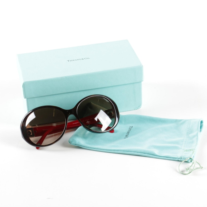 355b54c9480d Tiffany   Co. TF 4022-B Sunglasses   EBTH