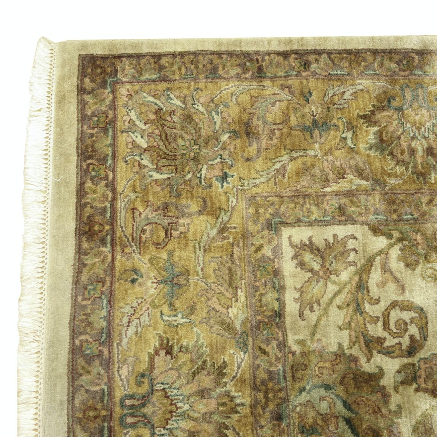 Large Square Machine Made Persian Style Area Rug
