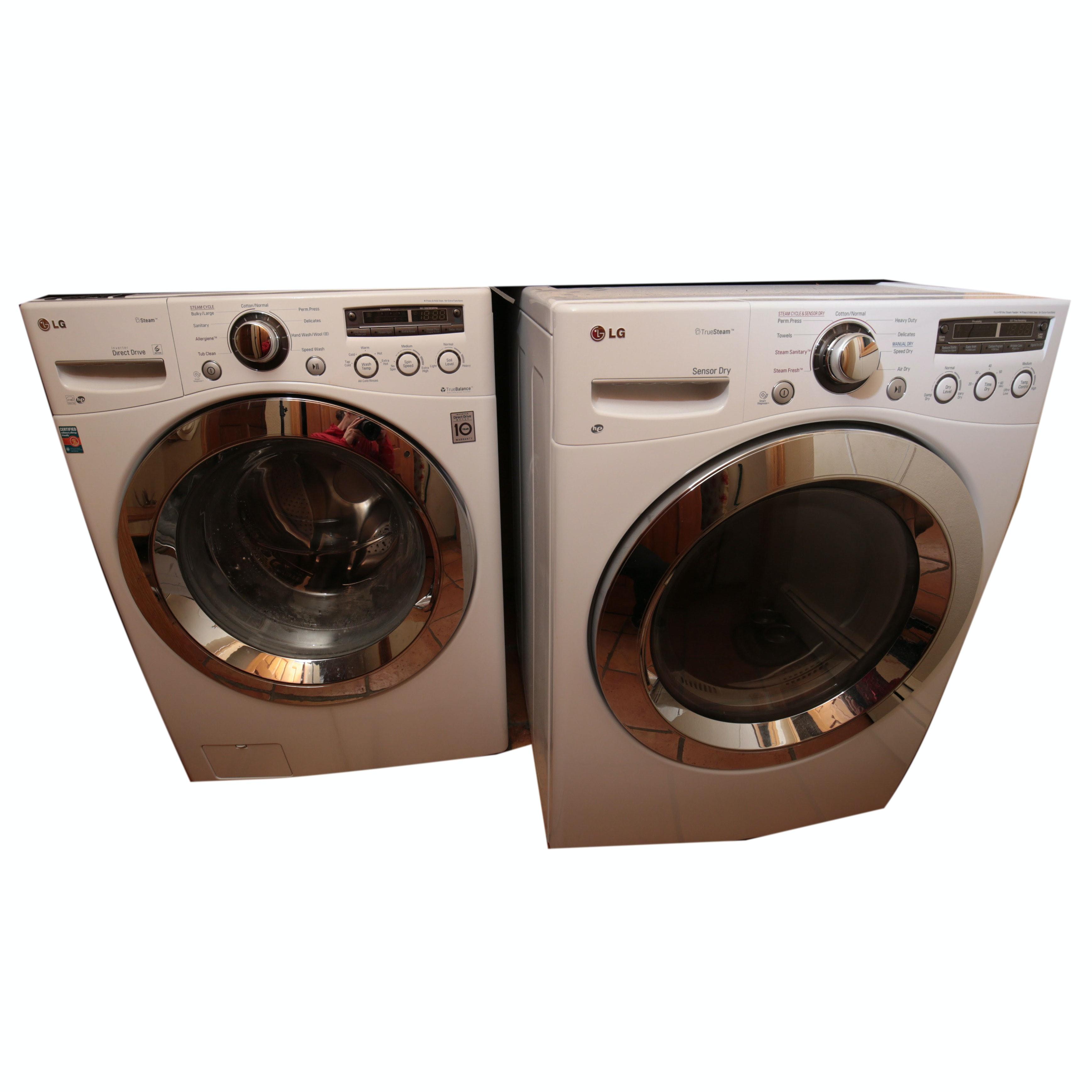 lg front loading true balance washer u0026 dryer