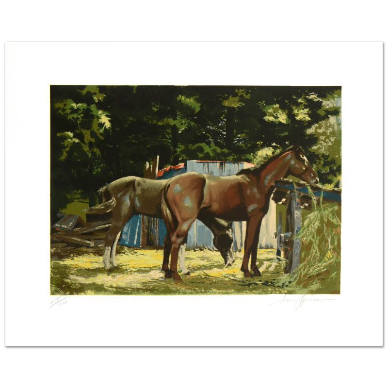 """""""Feeding Time"""" Limited Edition Serigraph by Harry Schaare"""